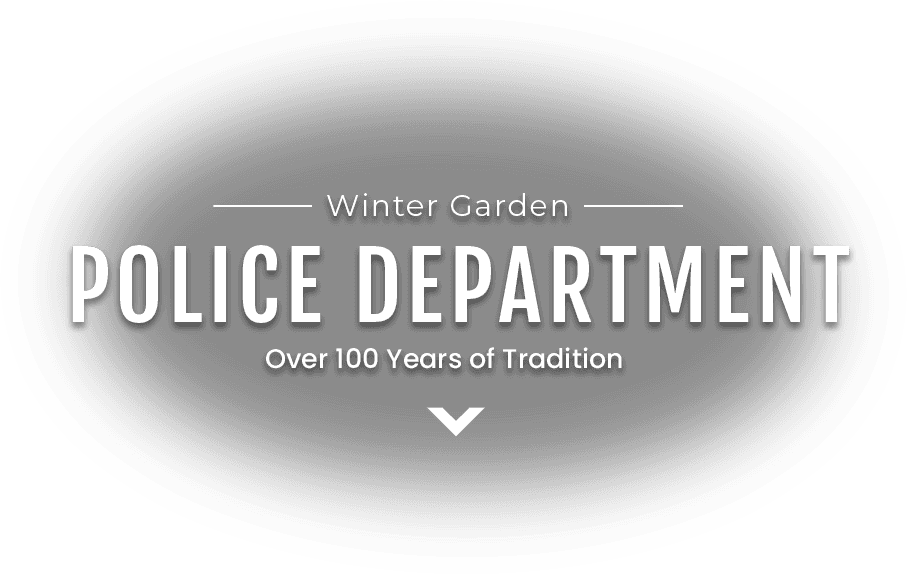 Winter Garden Police Department Over 100 Years of Traditions